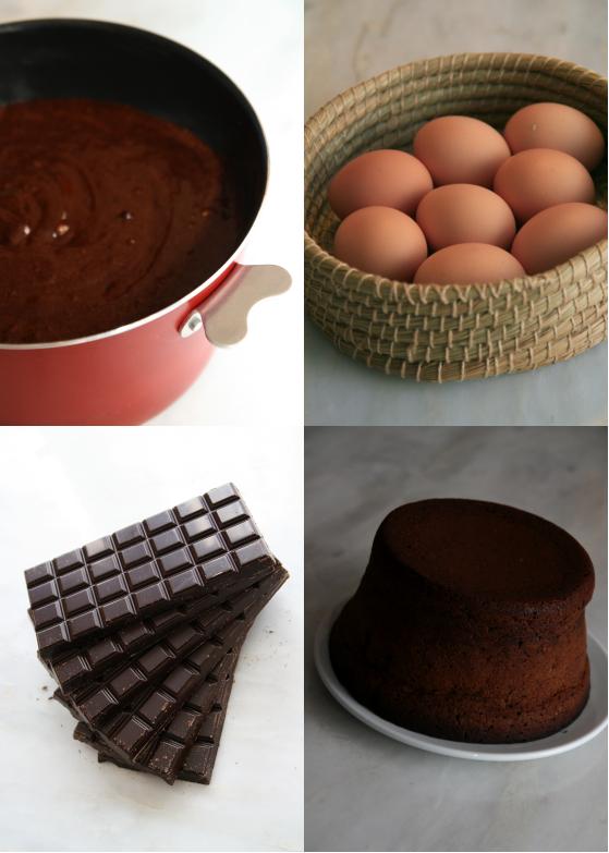 Recette du fondant au chocolat et aux noisettes les d lices d 39 ana s - Recette du fondant au chocolat ...