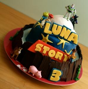 Gâteau d'anniversaire Toys Story 3