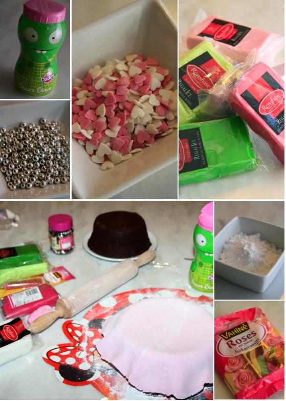 Fabuleux Les gâteaux d'anniversaire et la décoration en pâte à sucre – Les  RV34