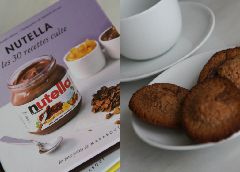 recette de mini madeleines au nutella les d lices d 39 anais. Black Bedroom Furniture Sets. Home Design Ideas