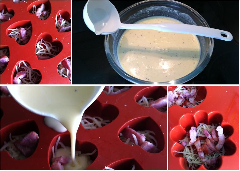 recette de mini quiches sans p te version sans gluten possible les d lices d 39 anais. Black Bedroom Furniture Sets. Home Design Ideas