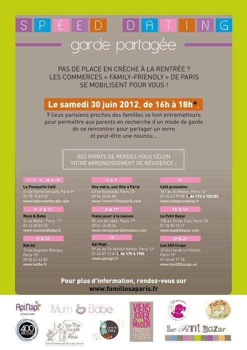Speed datation Paris 50 ans rencontres Cairns QLD