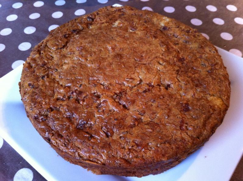 Cake salé à la farine de sarrasin