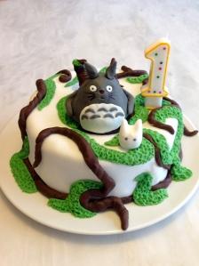 Les délices d'Anaïs Gâteau d'anniversaire mon voisin Totoro