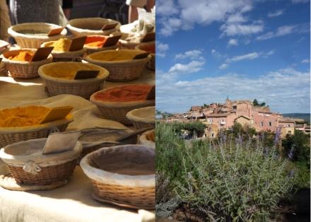 Village et marché de Bonnieux