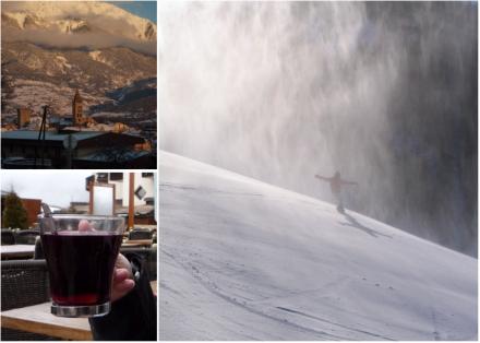 Embrun - Vin chaud et neige fraîche