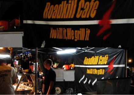 Roadkill café au Sunset