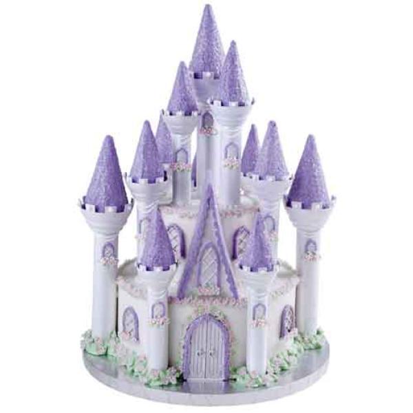 Le gâteau d'anniversaire château de la belle au bois dormant ...