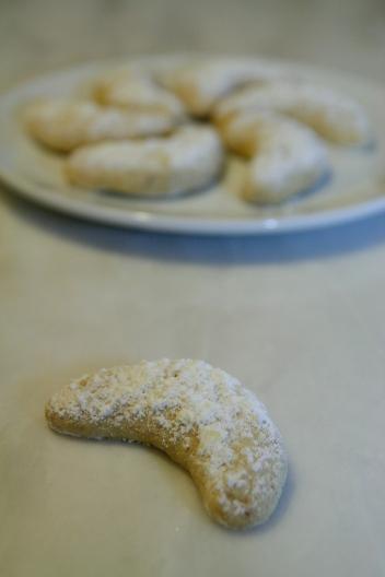 Croissants viennois aux noisettes