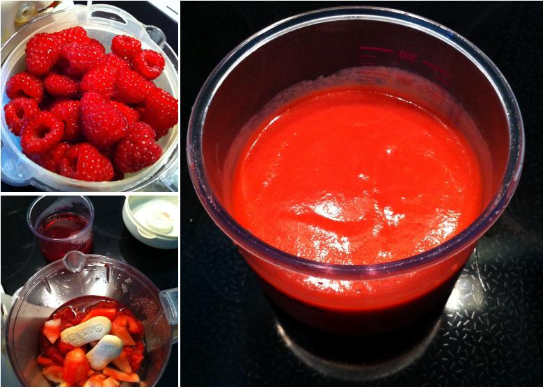 Montage Photos_PetitPlatBebe_Dessert_FramboisesPommeBiscuits
