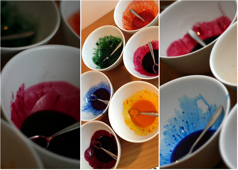 Les colorants Scrapcooking dilués