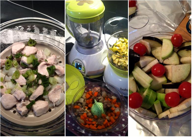 Les recettes des Délices d'Anaïs avec le Nutribaby de Babymoov