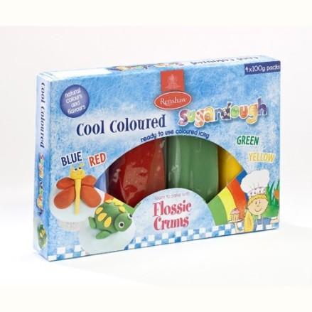 Renshaw-pack-pates-a-sucre-400-gr-vert-bleu-rouge-jaune
