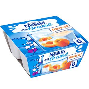 Nestlé P'tit Brassé Abricot