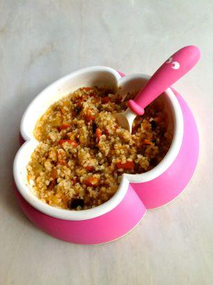 Recette de petits légumes et thon à la provençale pour bébé