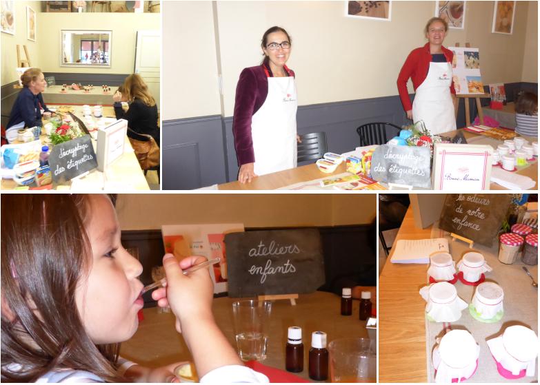 Les ateliers de la cuisine ph m re de bonne maman les for Atelier de la cuisine