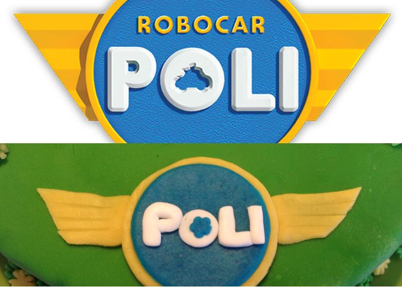 Le g teau d anniversaire robocar poli 3 les d corations - Le club robocar poli ...