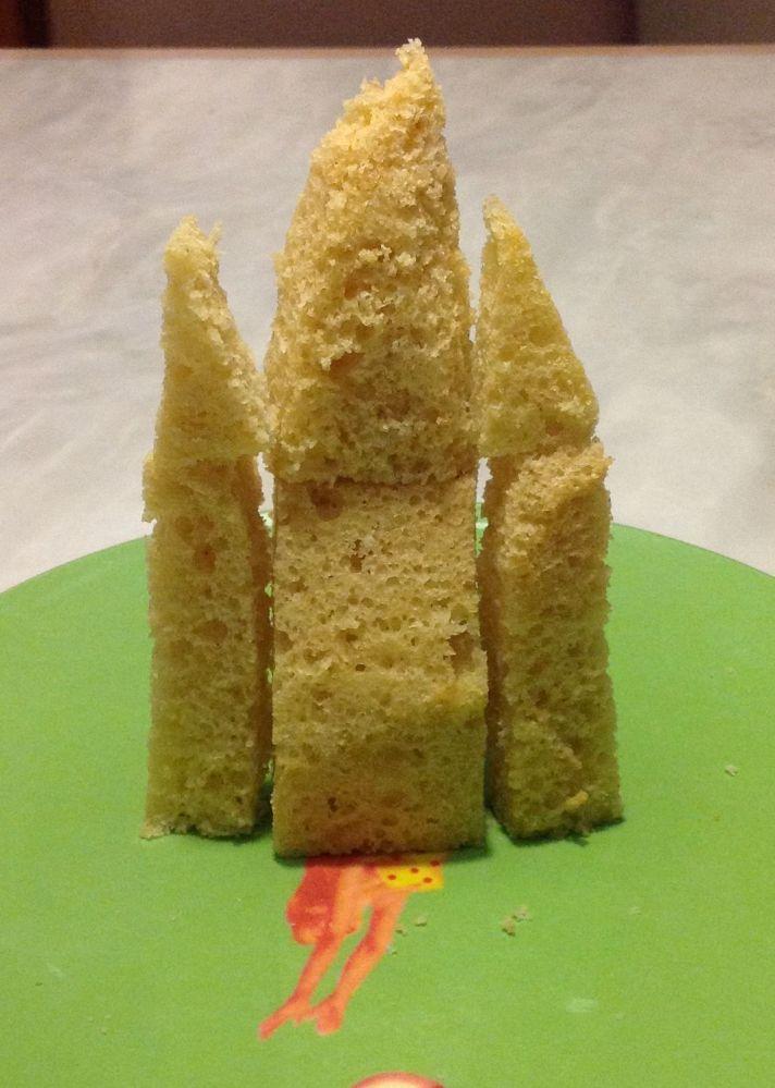 Le gâteau d'anniversaire la reine des neiges #2 les préparatifs et la montagne de neige (6/6)