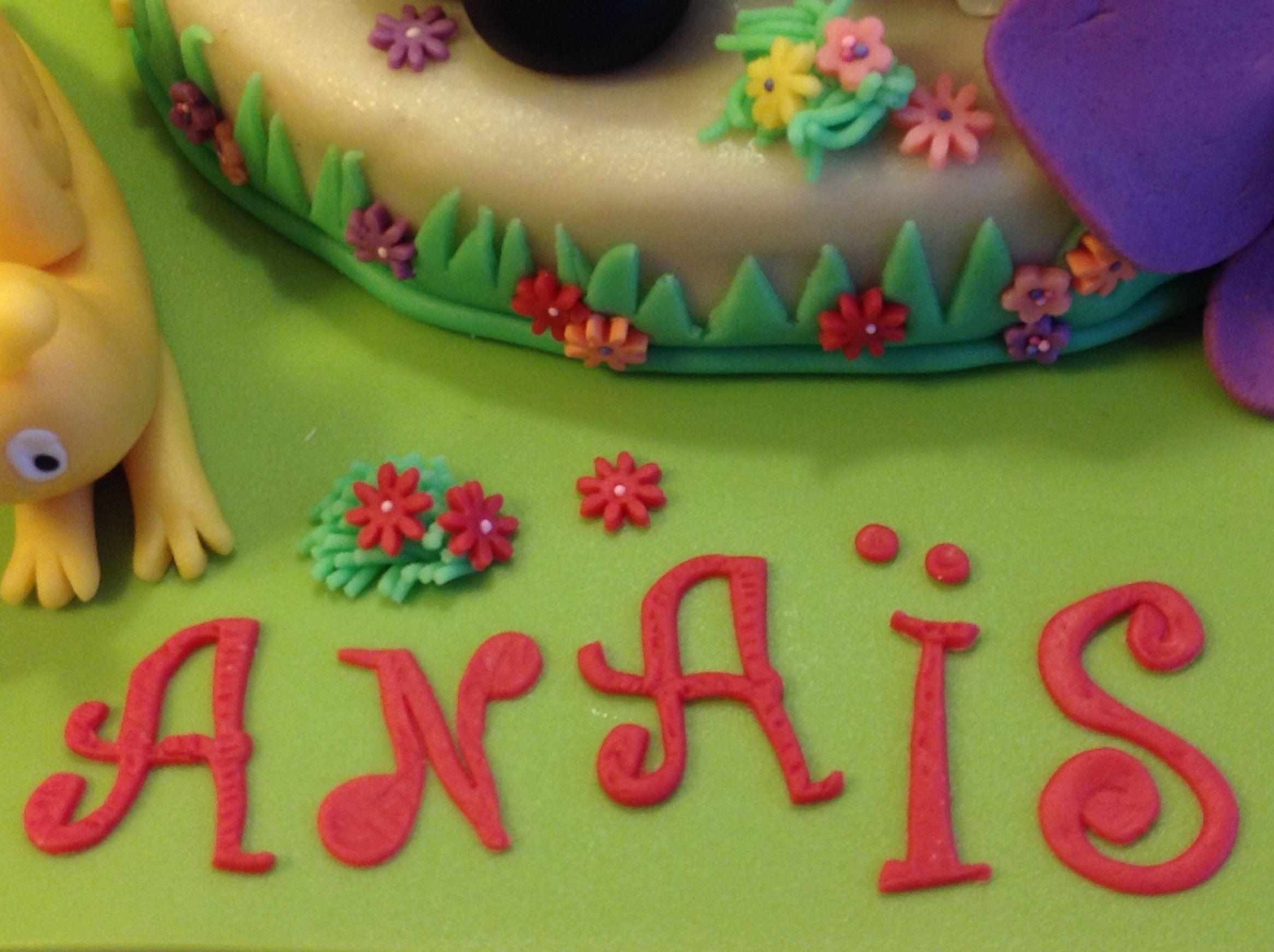Souvent Le gâteau d'anniversaire Barbapapa #3 La décoration du gâteau en  AX66