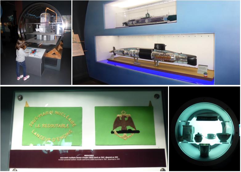 Escapade-gourmande-Cherbourg-Cite-de-la-mer-expo-sous-marins