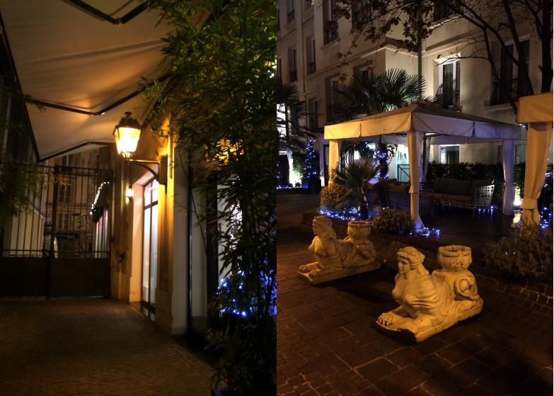 Mes coups de c ur de la soir e e parisiennes les d lices for Hotel du jardin