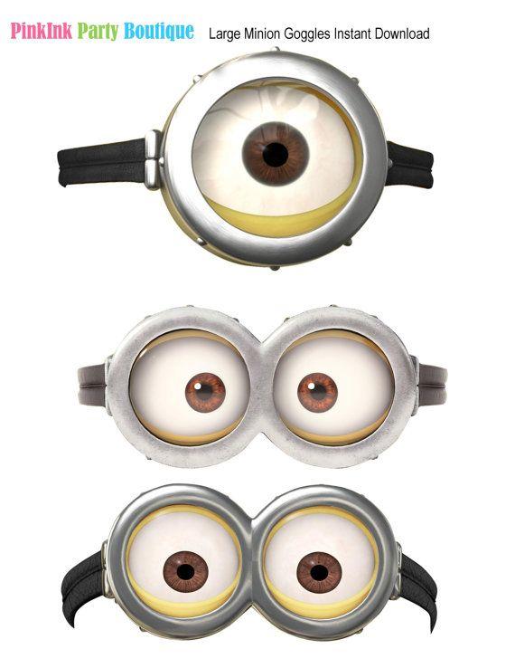 Как сделать глаза миньону - Mobile-health.ru