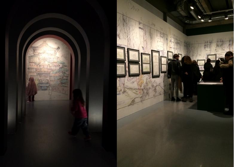 LDDA_exposition_ghibli_Paris_scenographie