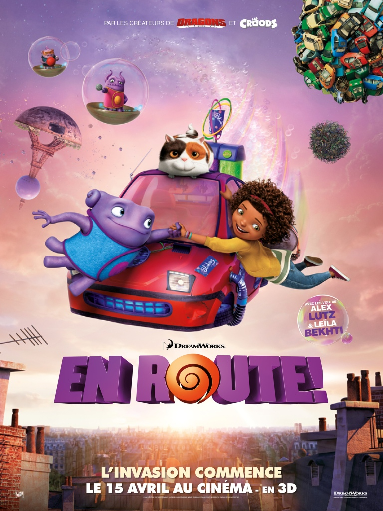FILM_Animation_En_route_dreamworks_affiche