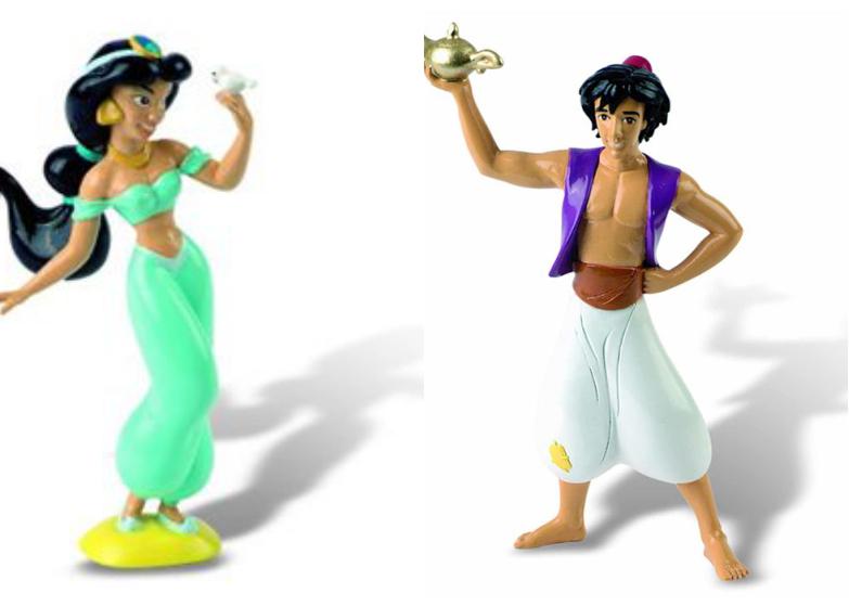 Tutoriel_LDDA_Gateau_anniversaire_Jasmine_Aladin_figurines