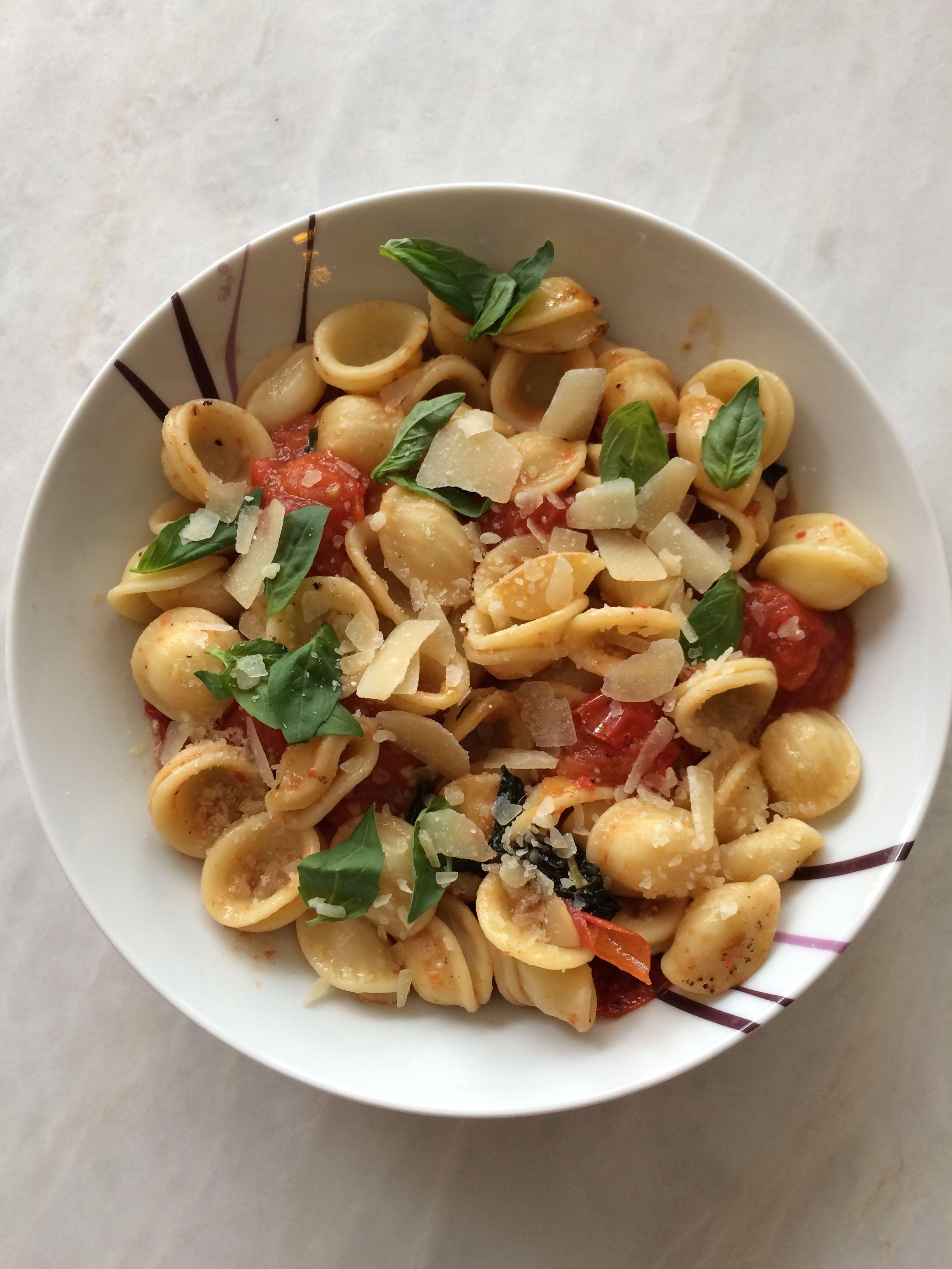 orecchiette tomate confite et roquette 28 images salade d orecchiette pois chiches tomates