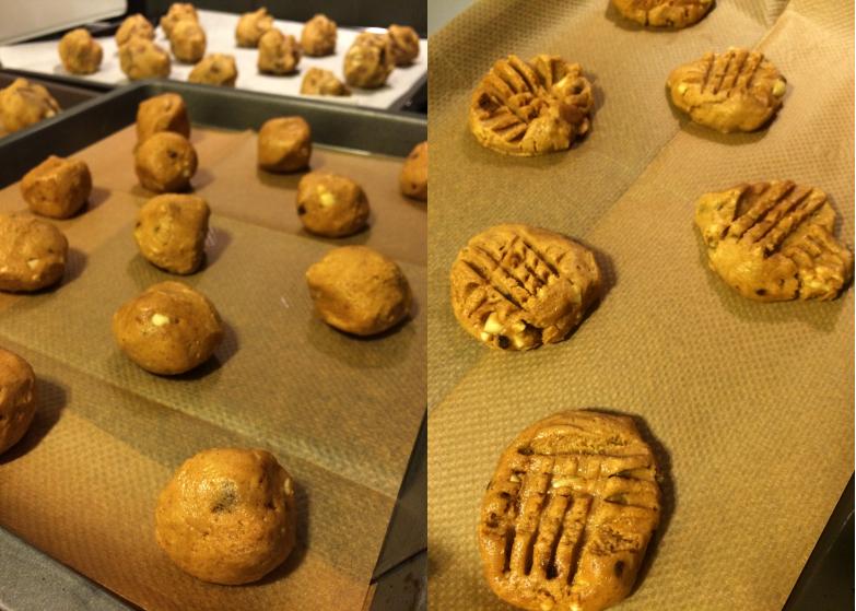 Cookies au beurre de cacahouète (3/4)