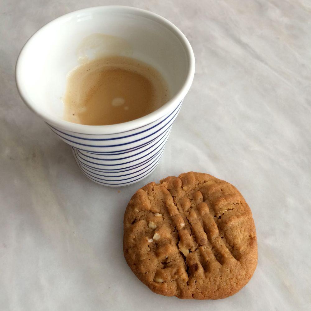 Cookies au beurre de cacahouète (1/4)