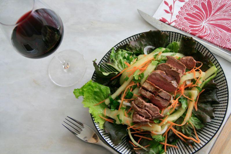 LDDA_Recette_Salade_pave_canard_facon_Thai_Madiran_2