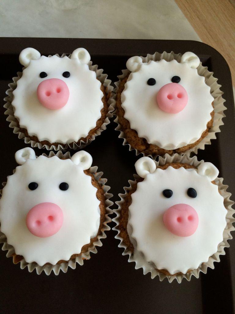 Cupcake_animaux_ferme_mouton