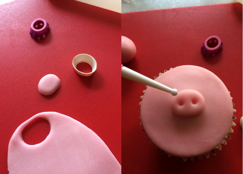 Cupcake_animaux_ferme_Museau_cochon