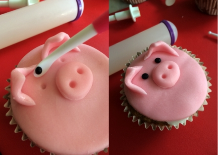 Cupcake_animaux_ferme_Oeils_cochon