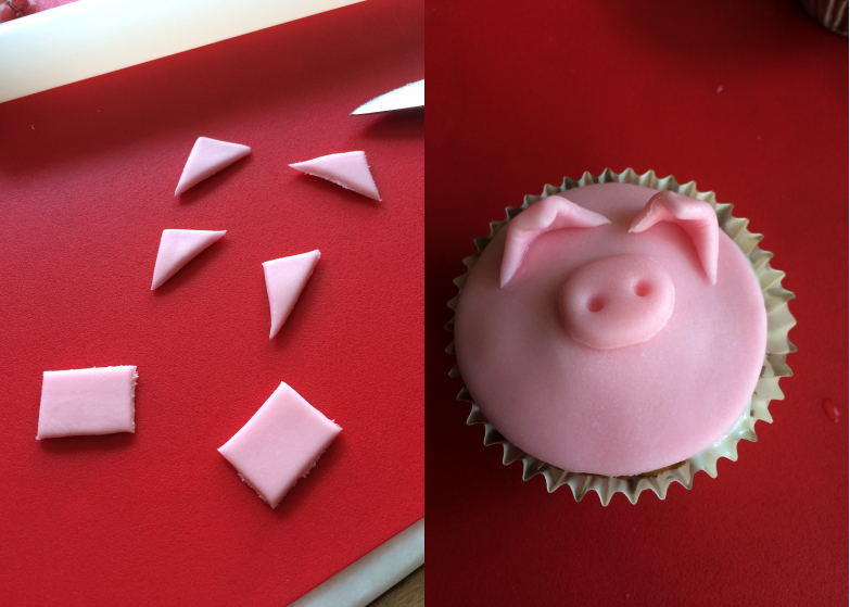 Cupcake_animaux_ferme_Oreilles_cochon
