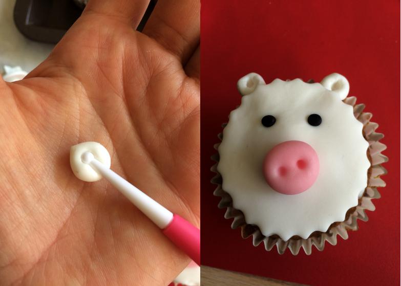 Cupcake_animaux_ferme_oreilles_mouton