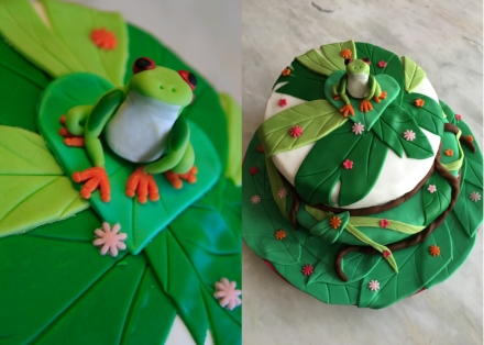 LDDA_Gateau_Anniversaire_Rainforest_Grenouille_Cakedesign_12