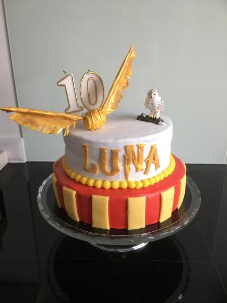Le Gâteau Danniversaire Harry Potter 3 Les Délices Danaïs
