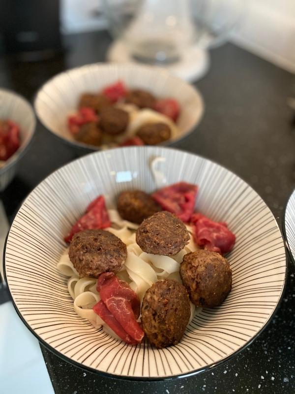 Les délices d'Anaîs - les boulettes pour la soupe pho