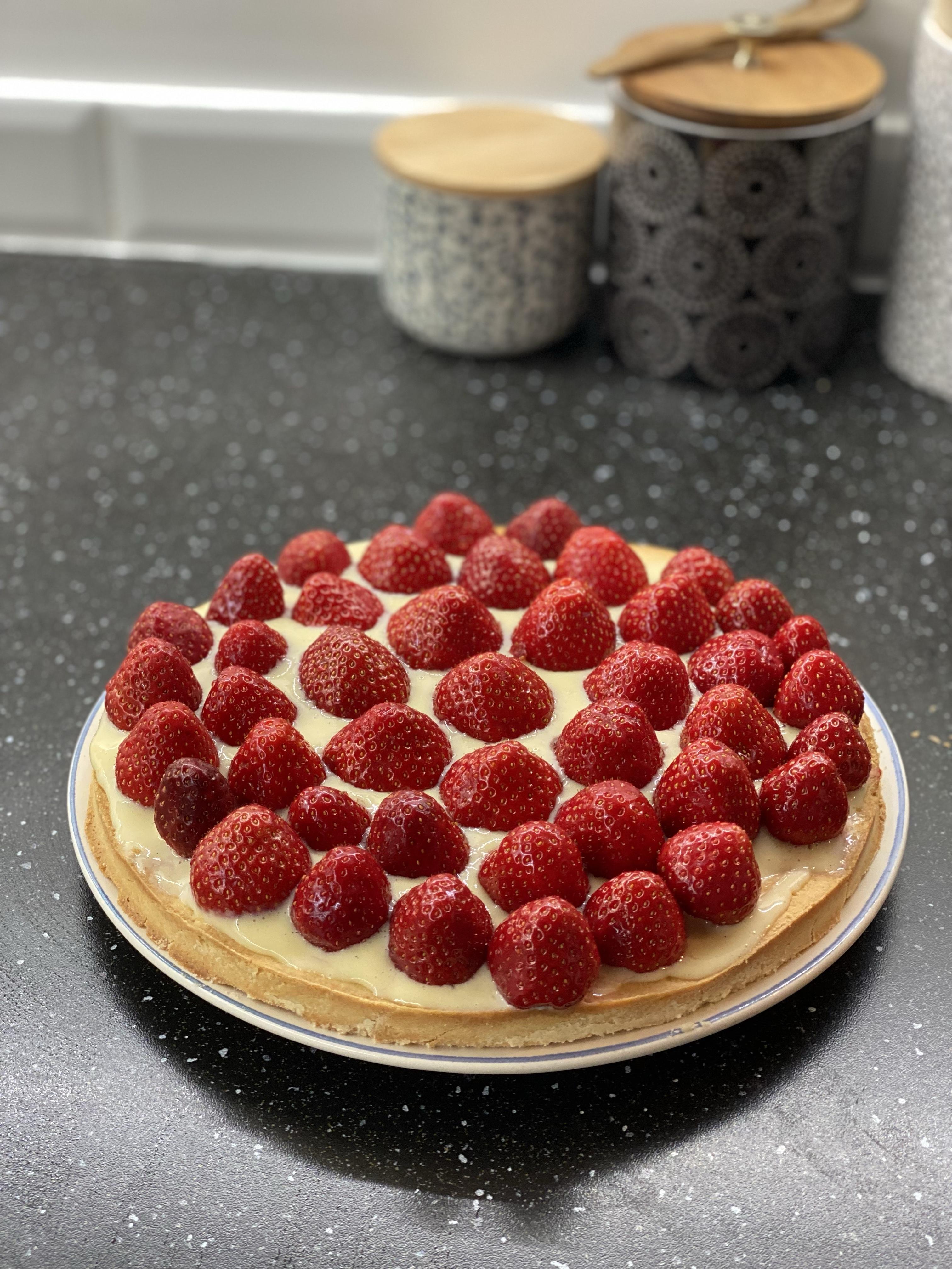 Les délices d'Anaïs - Tarte aux fraises